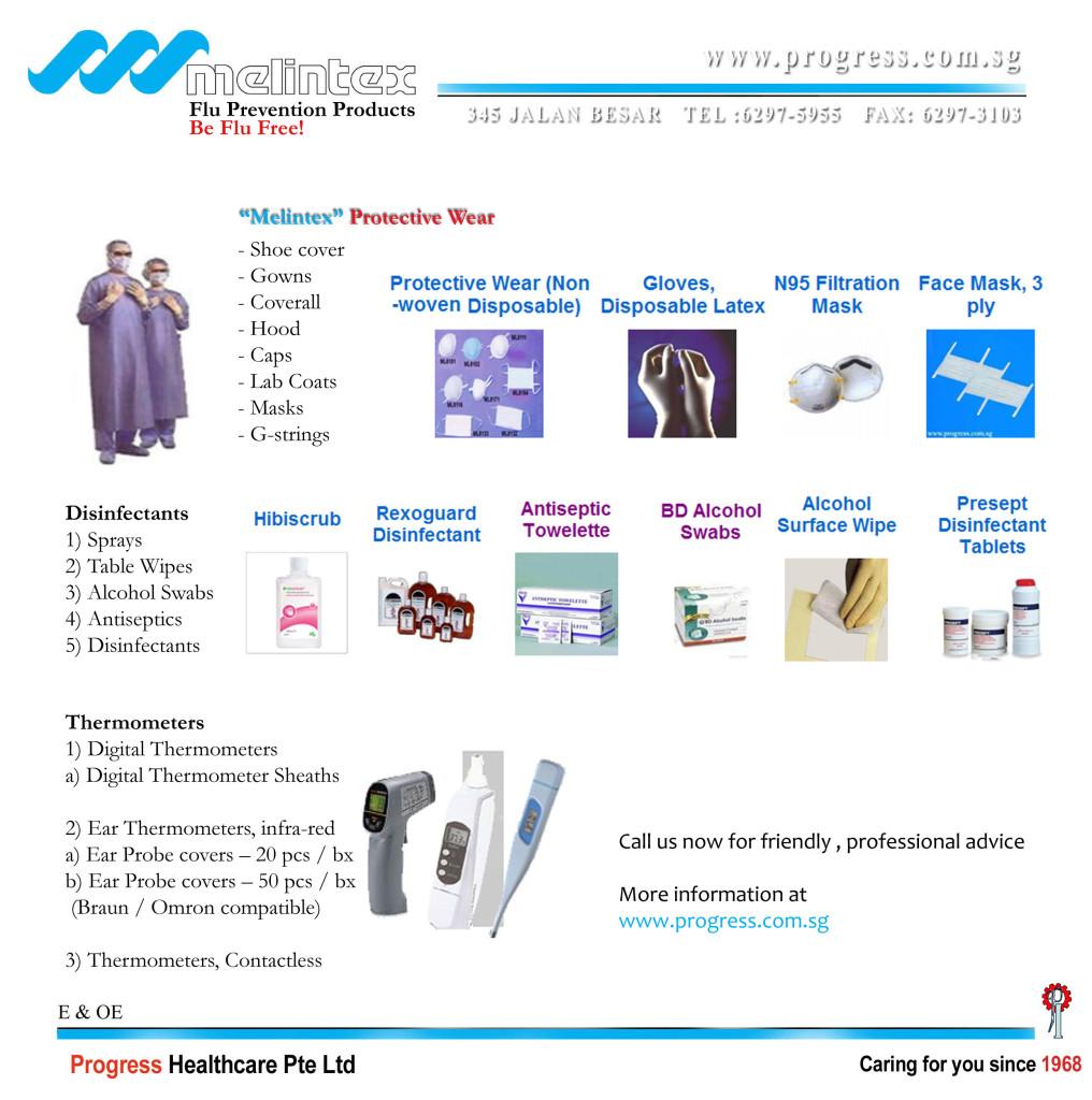 2010 Flu Preventive Products