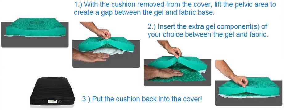 Adjusting the Adjustable Equagel Cushion