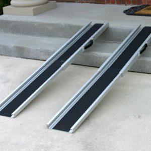 Aluminum Ramp Wheelchair