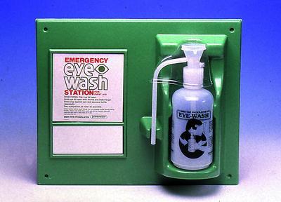 eye wash station instructions