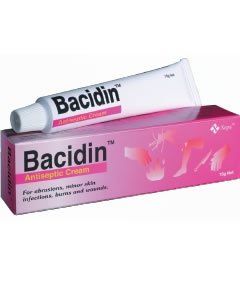 Bacidin Antiseptic Cream
