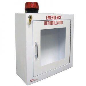 Defibrillator-AED-Cabinet