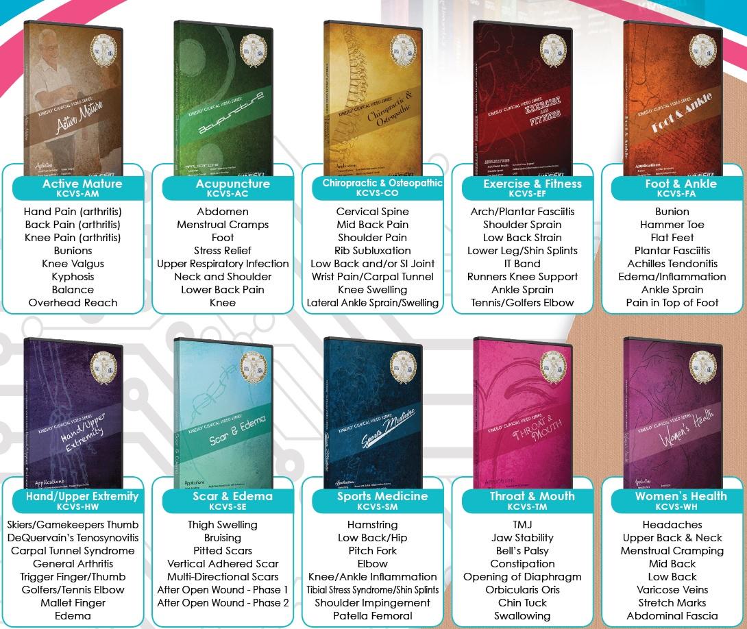 Kinesio DVD Range 2015