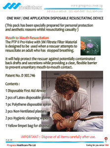 Melintex - Disposable Resuscitation Pack