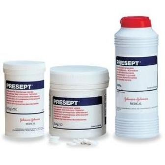 Presept Disinfectant Tablets