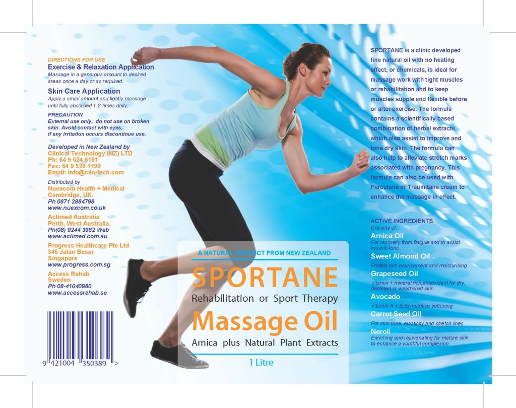 Sportane Massage Oil1