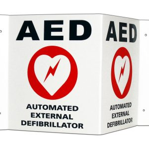 aed-wall-sign