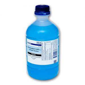 baxter chlorhexidine 0.05