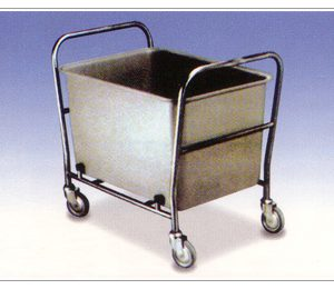 ALLOYMED SOILED LINEN COLLECTION TROLLEY FOR WET & DIRTY LINEN