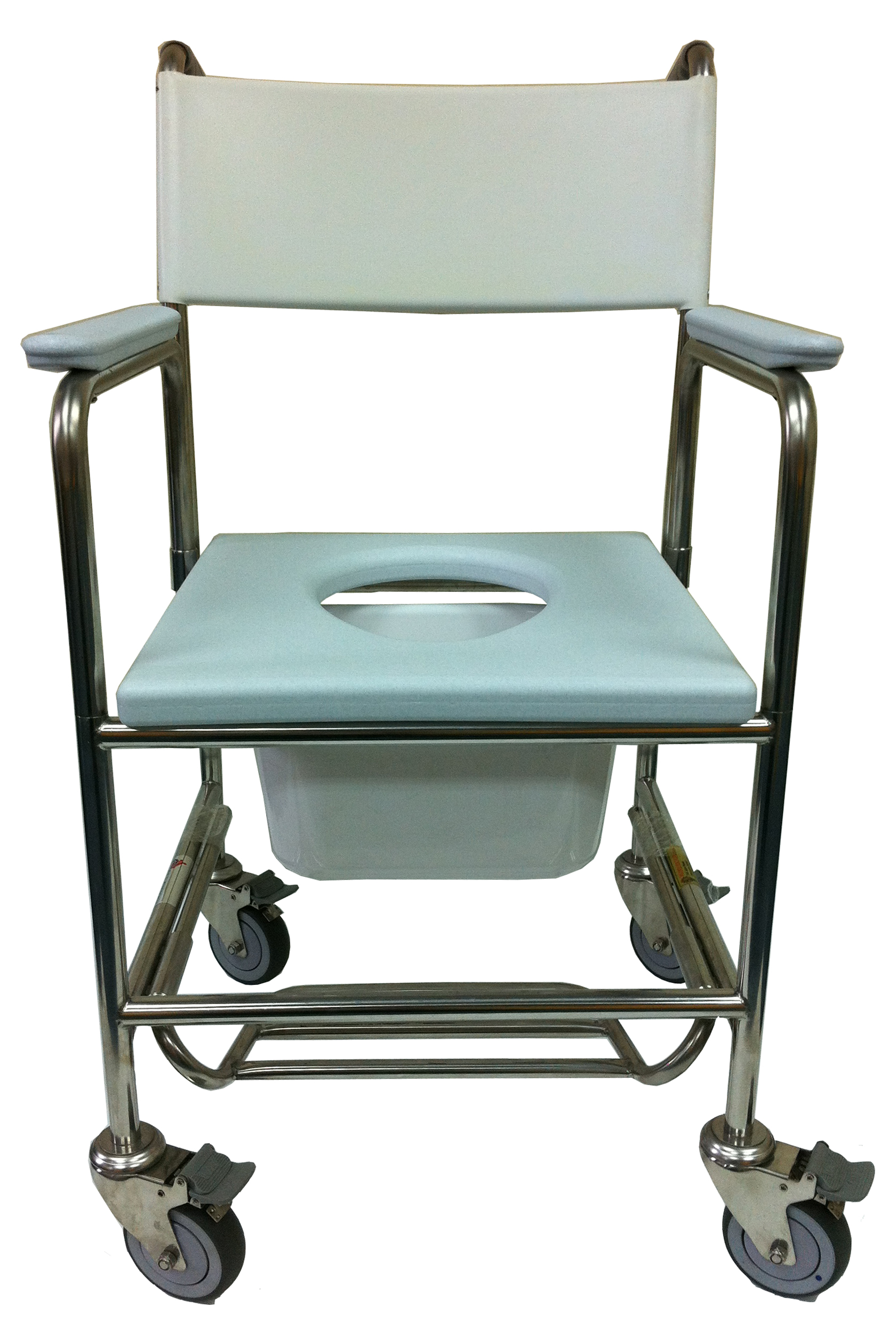 Shower Commode 3-in-1 Stainless Steel -