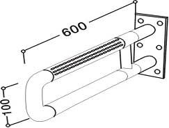 8002 Wall Grab Bar