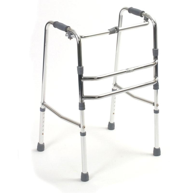 alloymed fixed walking frame alloymed 4081 reciprocal walking frame - Zimmer Frame