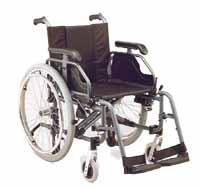 Alloymed Lightweight Wheelchair 900QR