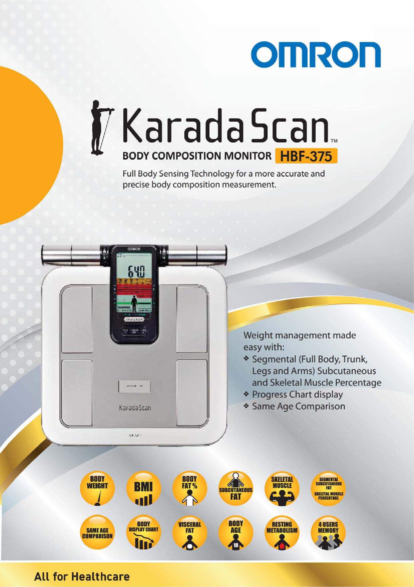 u00bb karada scan body composition monitor