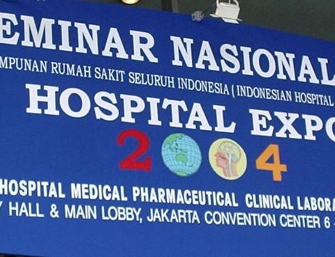 SEMINAR NASIONAL VI HOSPITAL EXPO 2004 (2)