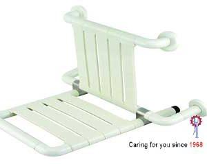 Shower Seat wBack Rest