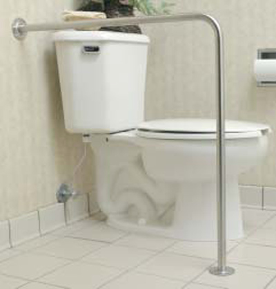 bathroom grab bars. a leading cause of injury in the home is