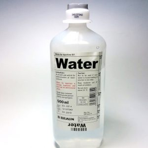 BRAUN WATER FOR INJECTION 500ML